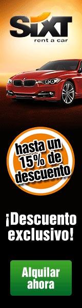 Oferta 15% alquiler de coches en Sevilla